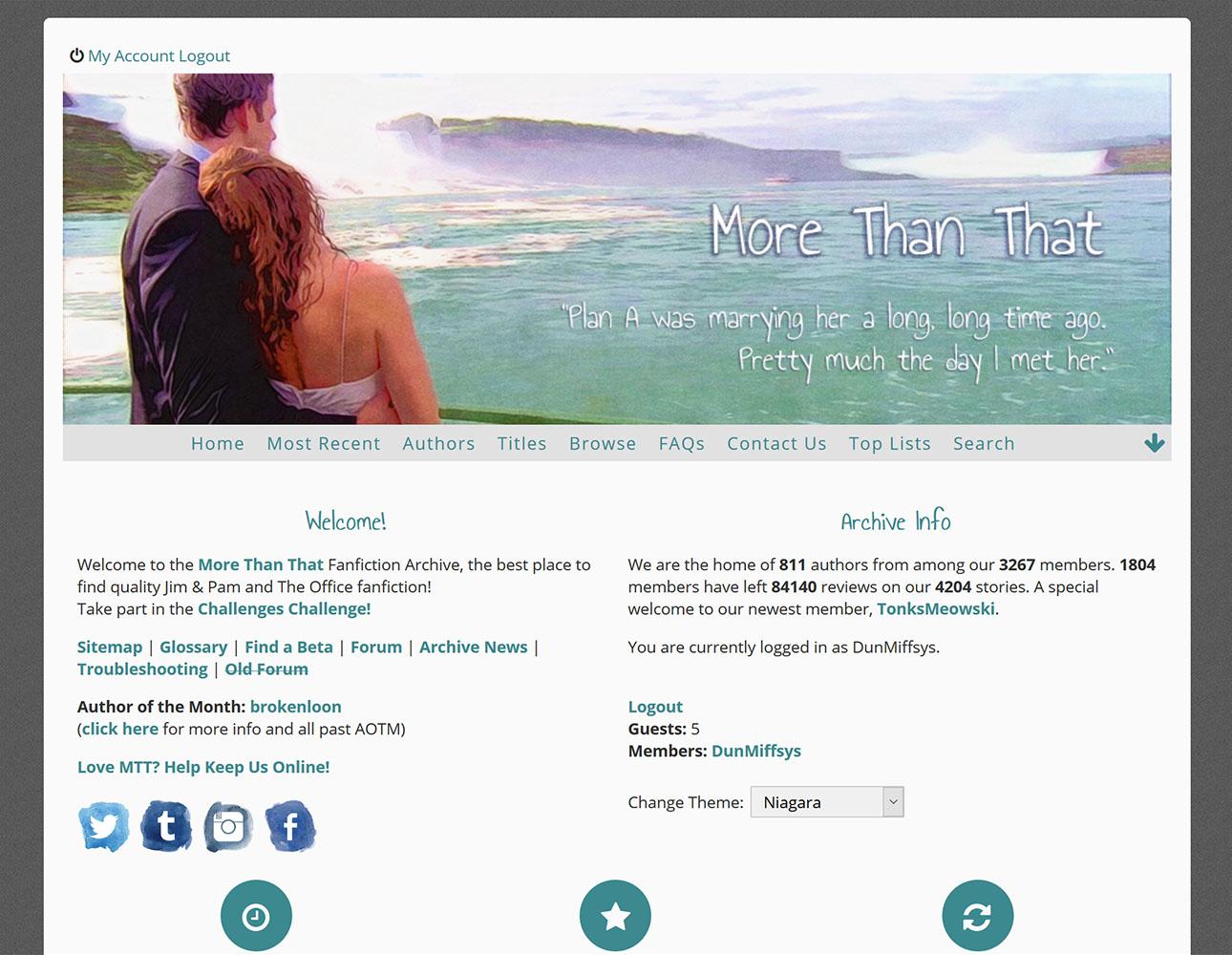 Niagara - desktop preview