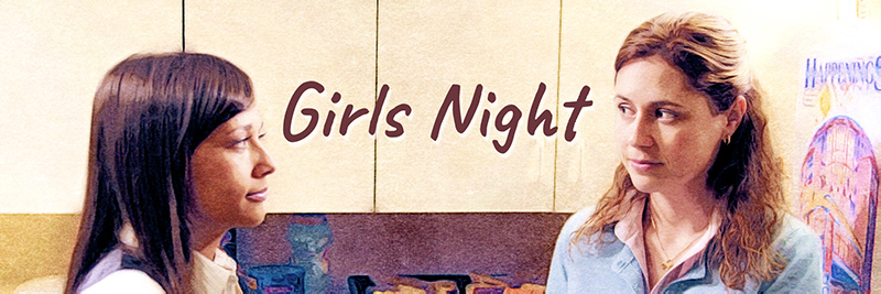 girls night banner